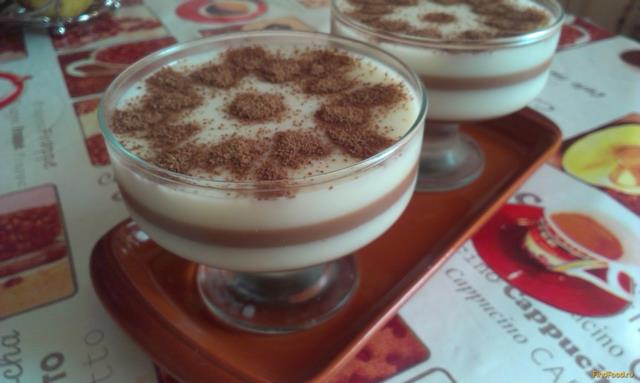 молочно шоколадное желе рецепт с фото