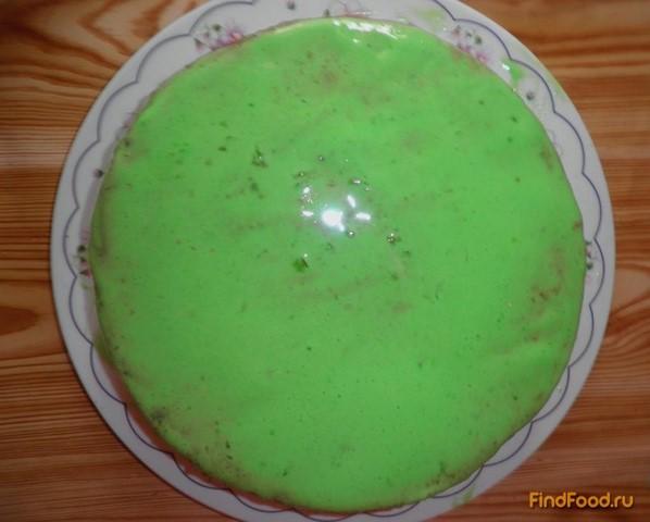 Белково-желатиновый крем для украшения тортов рецепт с фото 9-го шага