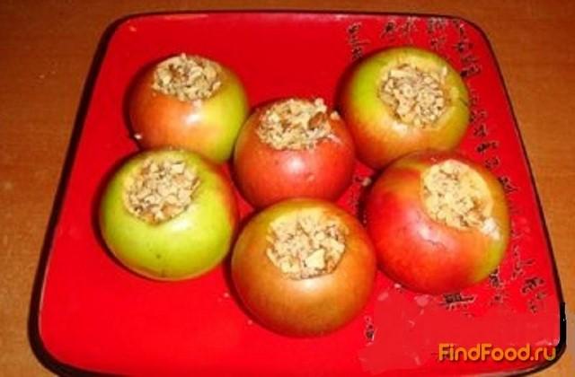 как приготовить десерт яблоки на снегу