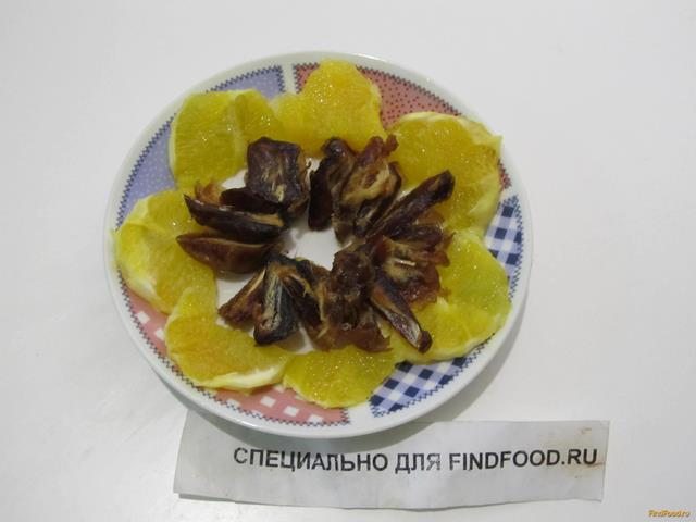 апельсиновый салат рецепт с фото