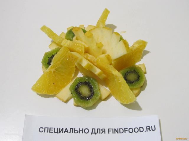 рецепт фруктовый салат с апельсином и