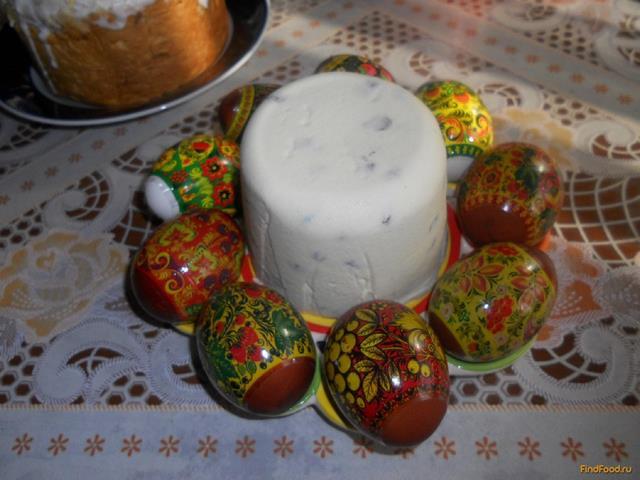 Рецепт Пасха с вареными желтками рецепт с фото