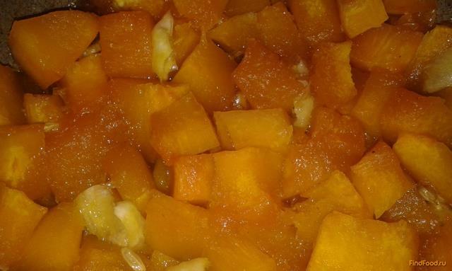 Рецепт Тыква в лимонной карамели рецепт с фото
