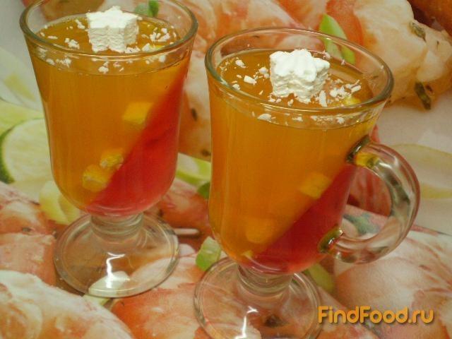 Рецепт Желейно-зефирный десерт рецепт с фото
