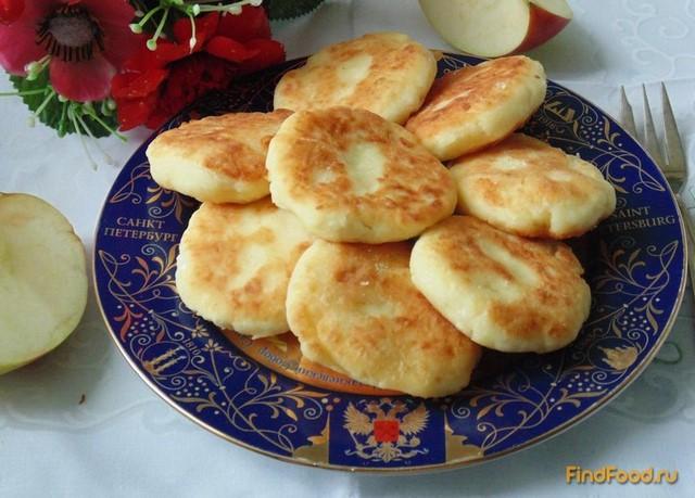 Рецепт Сырники с яблоками рецепт с фото