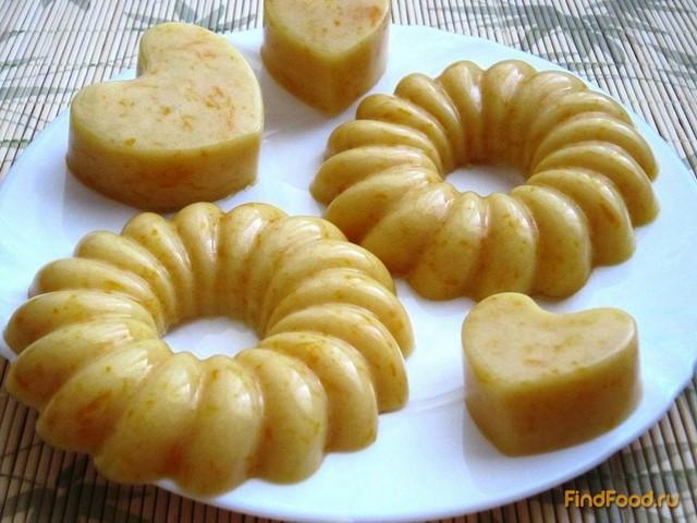 Рецепт Апельсиновый пудинг рецепт с фото