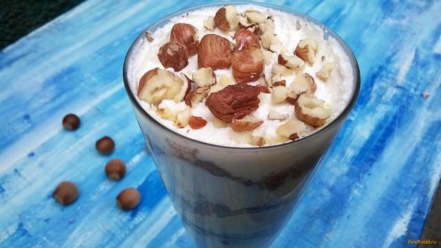 Рецепт Творожный десерт с лесными орехами рецепт с фото