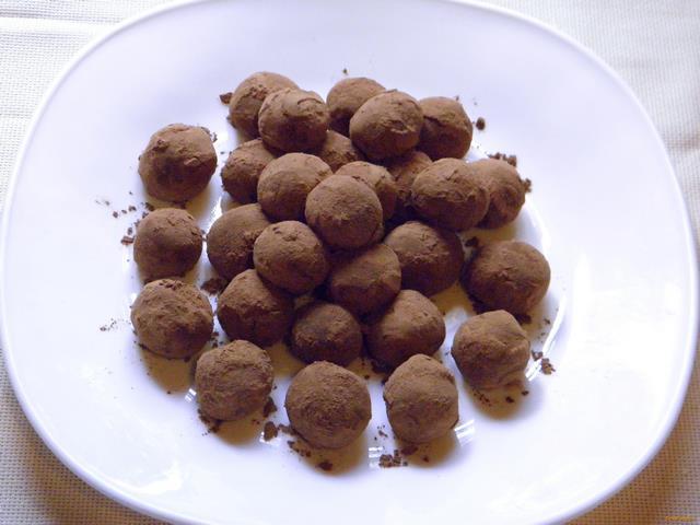 Рецепт Домашние трюфели с кэробом рецепт с фото