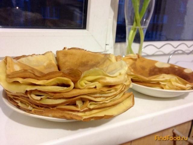 Рецепт Лимонные блинчики рецепт с фото