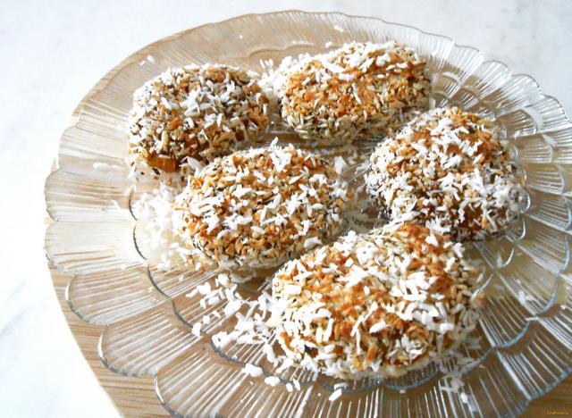 Рецепт Сладкие рисовые биточки рецепт с фото