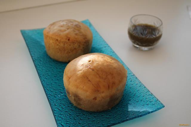 Рецепт Паровые кексы с сиропом из зеленого чая рецепт с фото