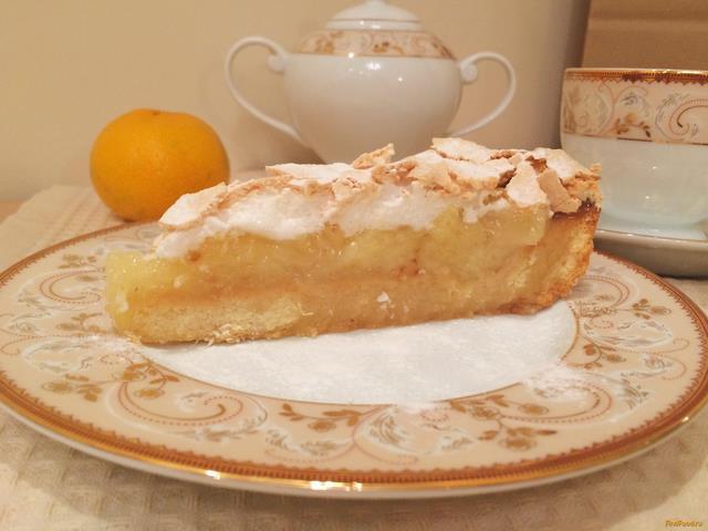 Рецепт Ананасовый пирог с меренгой рецепт с фото