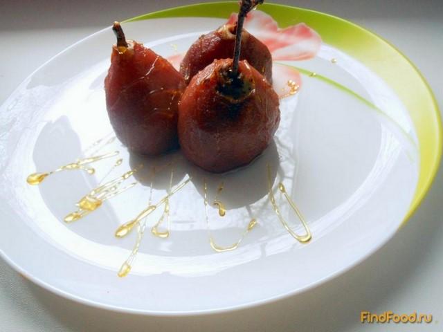 Рецепт Груша в вине рецепт с фото