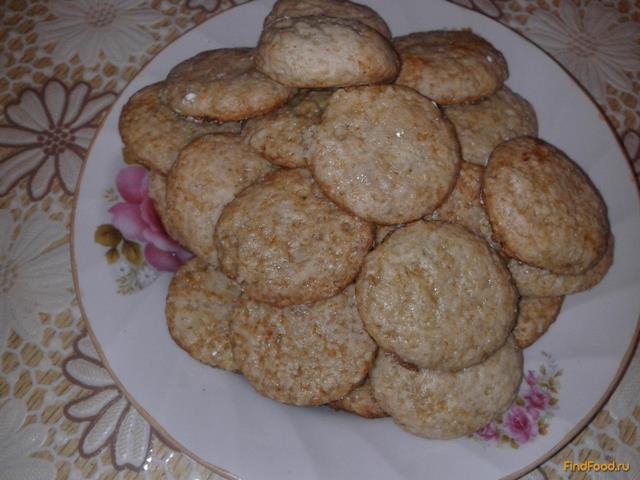 Рецепт Печенье с бананом и мёдом рецепт с фото