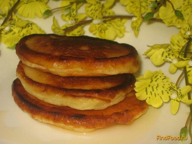 Рецепт оладьев на кефире пышные с фото