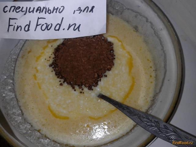 кофейный торт на кефире рецепт с фото