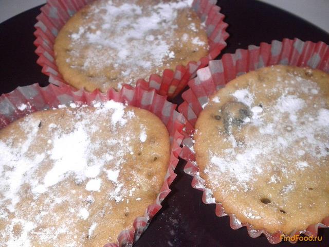 Рецепт Кексы с черносливом и бананом рецепт с фото