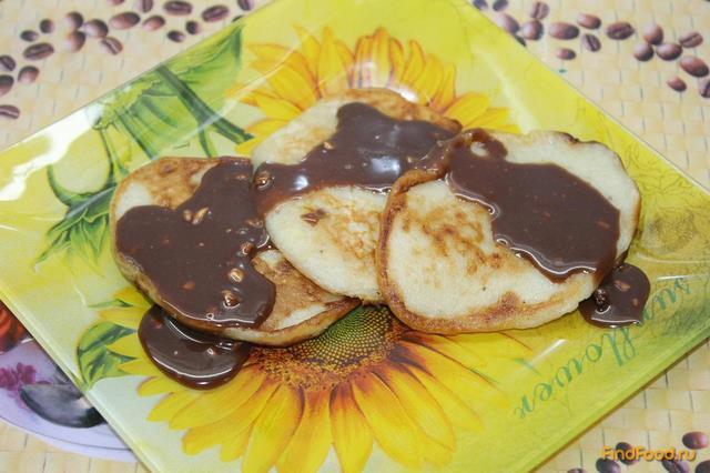 Рецепт Оладьи с шоколадом и бананами рецепт с фото