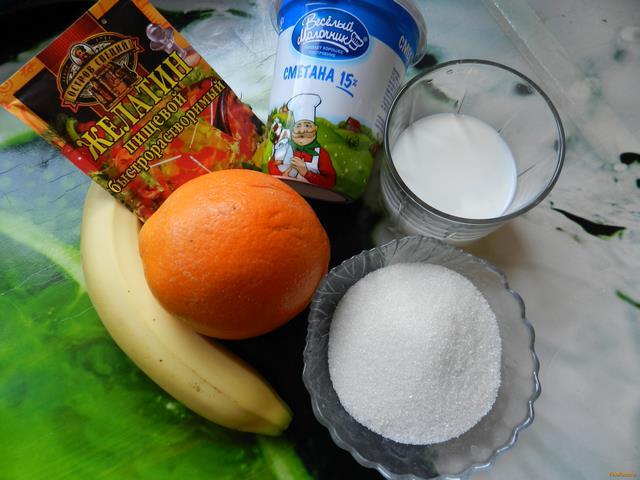 Желейно фруктовый торт без выпечки рецепт с фото