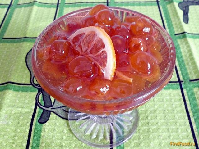 Рецепт Варенье из белой черешни с лимоном рецепт с фото