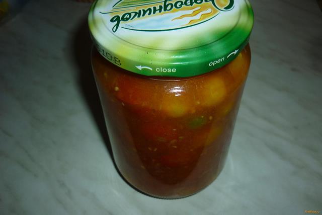 Рецепт Помидоры черри в томатном соке рецепт с фото