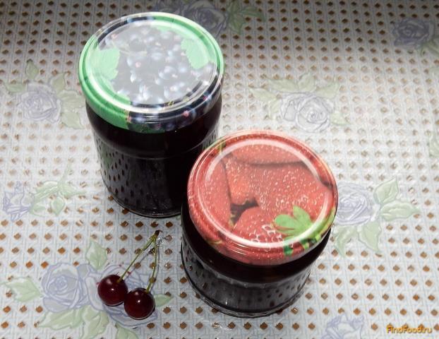 Рецепт Вишневое желе на зиму рецепт с фото