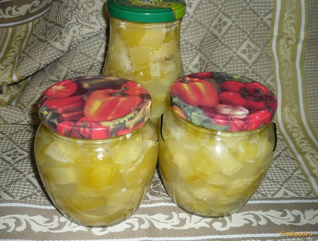 Рецепт Острые маринованные кабачки рецепт с фото