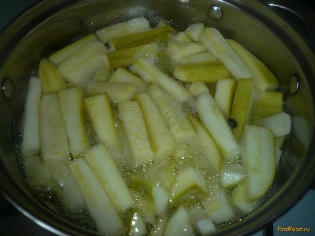 Маринованные кабачки на зиму рецепт с фото 8-го шага