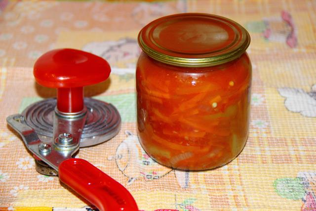 рецепт приготовления лечо из помидор и перца и моркови