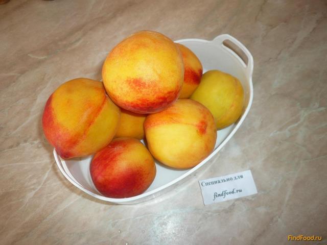 рецепт изготовления персикового варенья