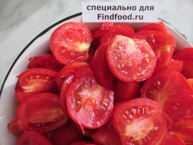 Лечо из томатов с болгарским перцем рецепт с фото 3-го шага