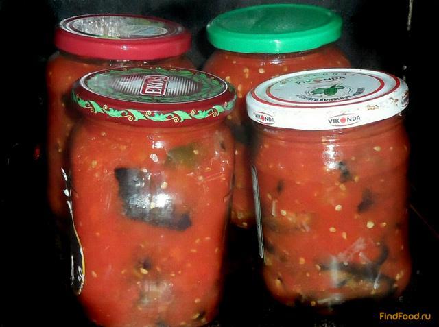 Рецепт Баклажановые рулеты в томатном соусе рецепт с фото