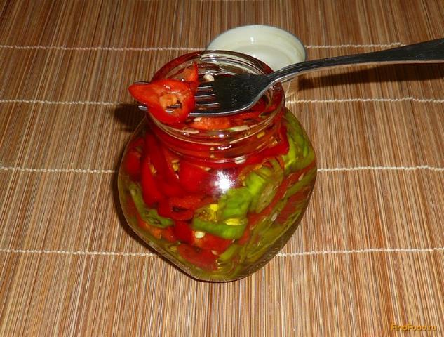 Рецепт Горький перец в оливковом масле рецепт с фото