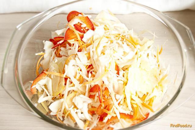 Овощные салаты за зиму пошагово
