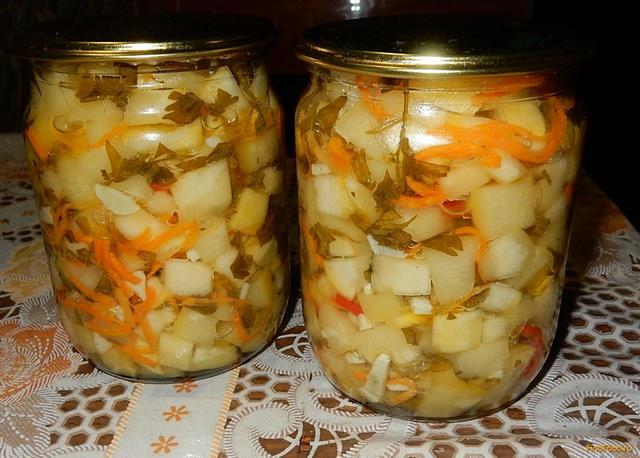кабачки салат на зиму рецепт