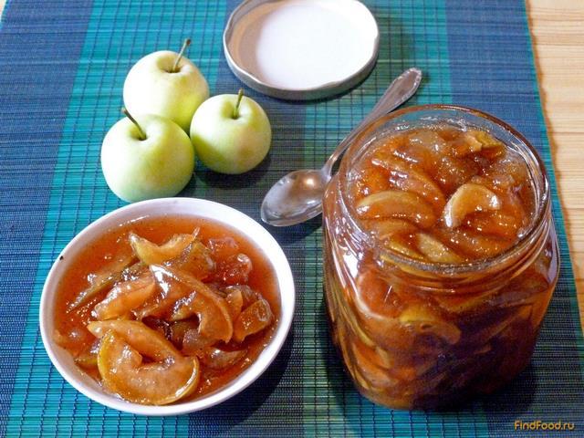 варенье из яблок с корицей рецепт