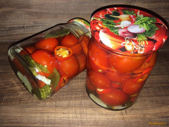 Помидоры в томате на зиму простой рецепт