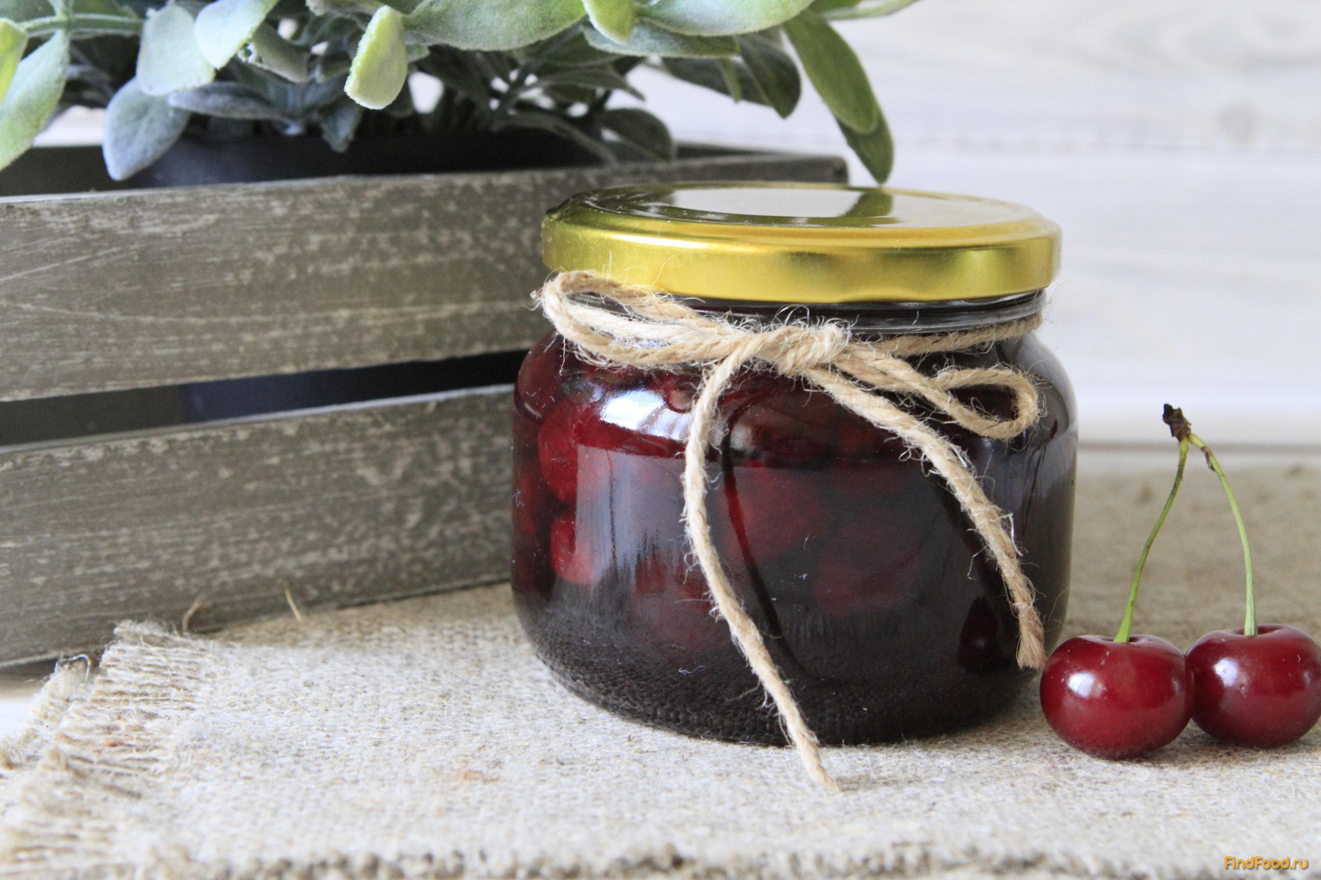 рецепты вишневого джема в мультиварке