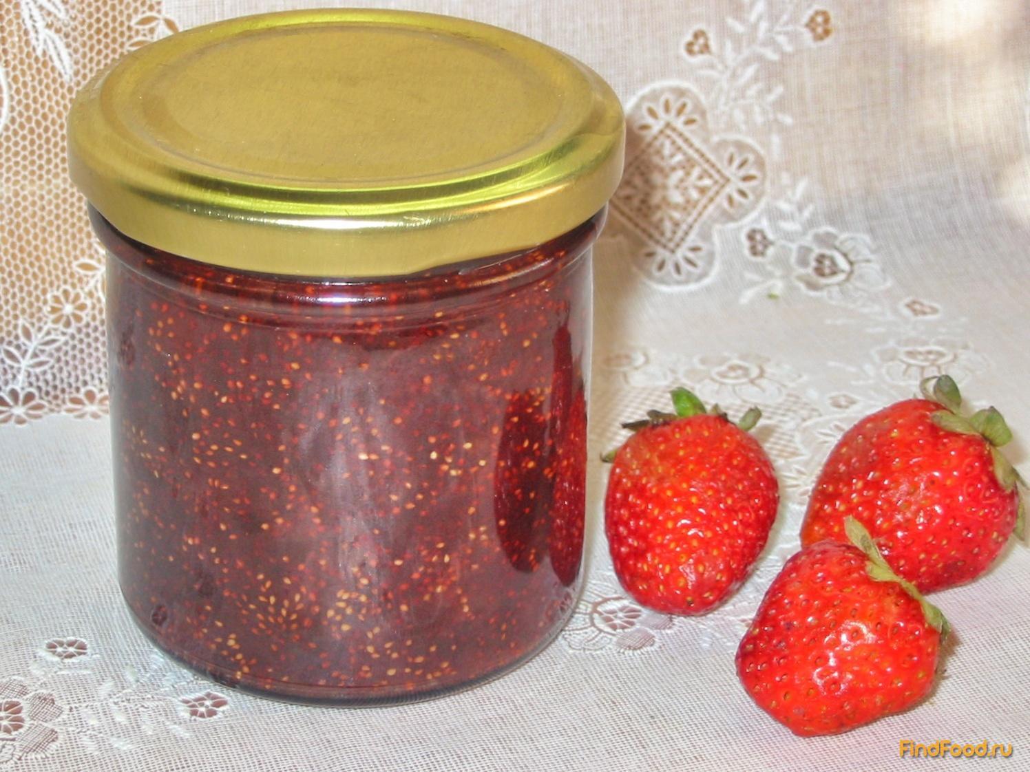 Варенье из клубники пятиминутка рецепт пошаговый