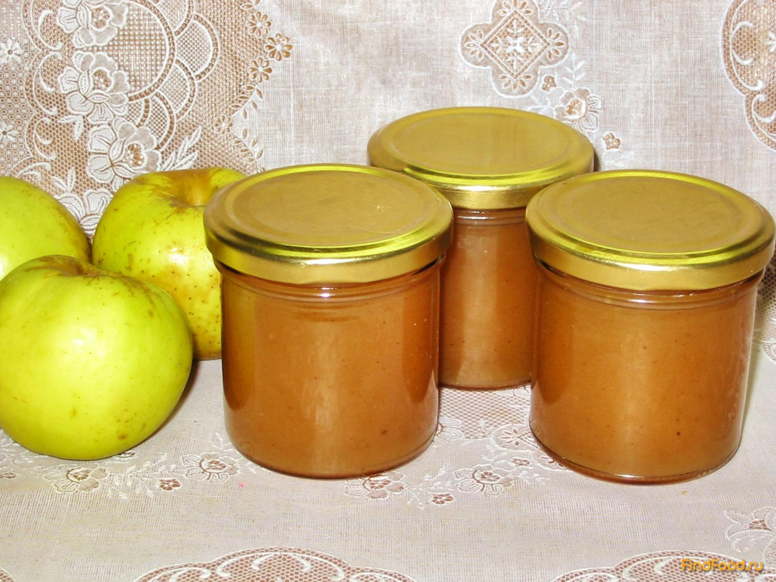 Повидло из яблок с корицей рецепт пошагово
