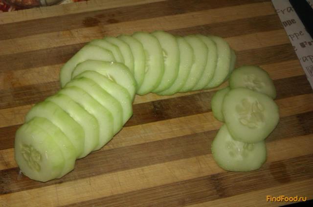 рецепт салата огурец с луком на зиму