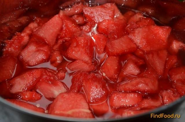 Варенье из мякоти арбуза рецепт пошагово