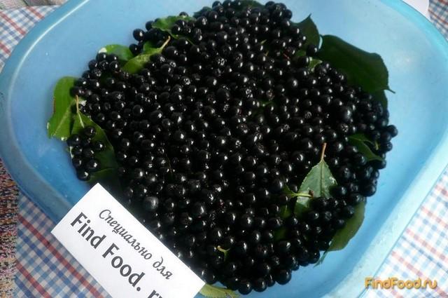 Сироп из черноплодной рябины рецепт с фото 5-го шага