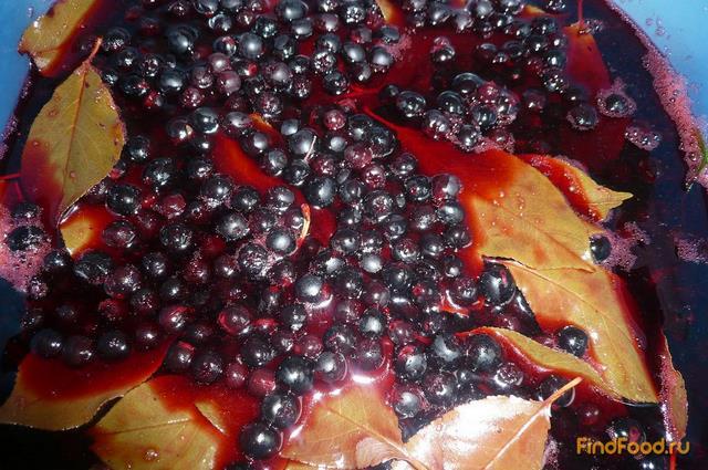 Сироп из черноплодной рябины рецепт с фото 7-го шага