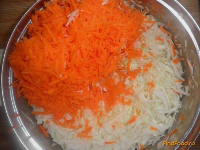рецепт салата на зиму из капусты фасоли