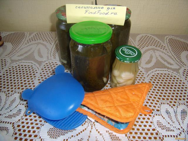 Рецепт Заготовка огурцов без уксуса рецепт с фото
