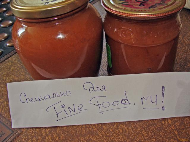 рецепт приготовления грушевого пюре