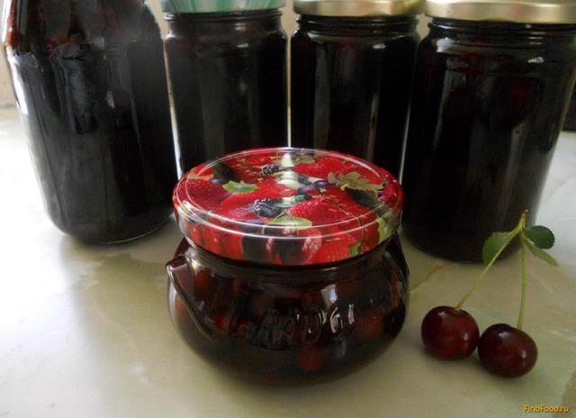 Рецепт Варенье Черный лес рецепт с фото