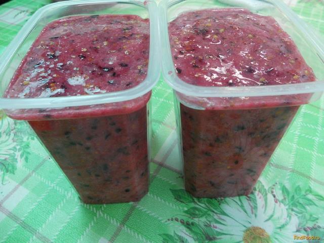 Рецепт Пюре из смородины замороженное рецепт с фото