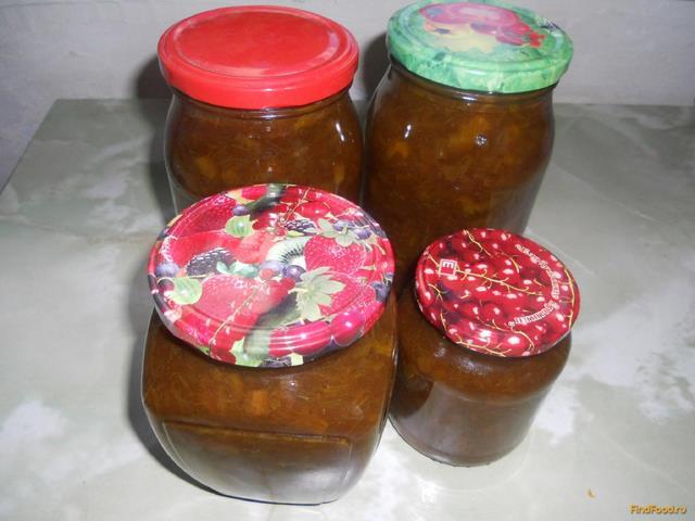 Рецепт Варенье из ревеня с апельсинами рецепт с фото